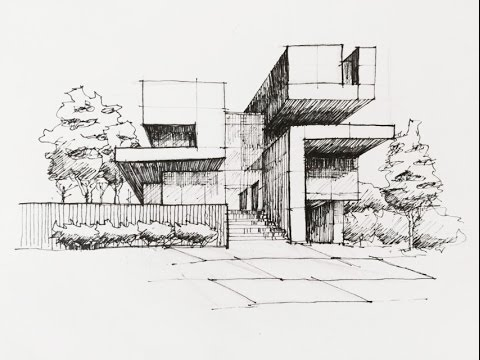 Architectural Sketching 02 Youtube