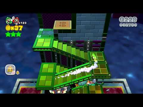 FINAL #CASTLE SUPER #MARIO 3D #LAND WITH HAPPY #ENDING GAMEPLAY #TRICKS - KingInfoGamer