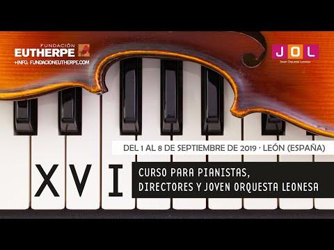 Concierto De Clausura Del XVI Curso De La Fundación Eutherpe.  Domingo 8 De Septiembre De 2019.