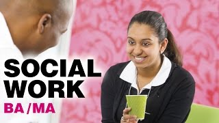 Become a Social Worker BA/MA