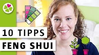 10 Feng Shui Tipps | Bessere Energie für dein Zuhause | Wie dich Räume unterstützen können