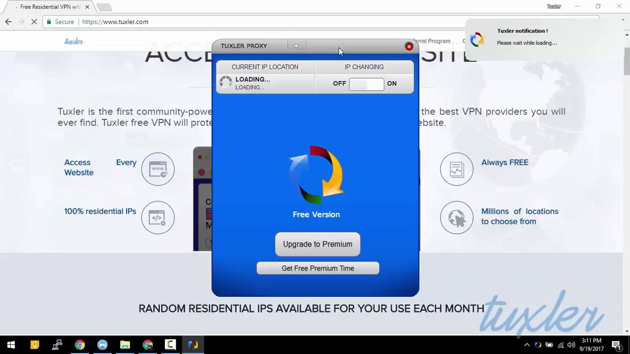 Tuxler Residential VPN - Windows app Installation Guide