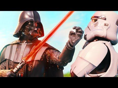 DARTH VADER HAS ARRIVED... *STAR WARS* (A Fortnite Short Film)