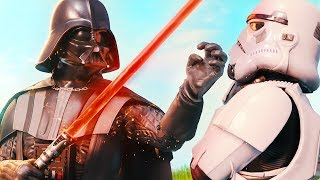 DARTH VADER HAS ARRIVED... *STAR WARS* (A Fortnite Short Film)
