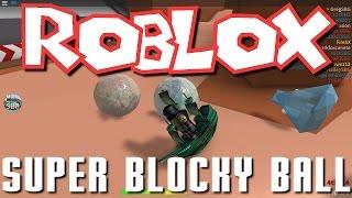 Roblox- Super Blocky Ball! (Family Play)