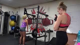 Kendra Sunderland Carmen Caliente Working Out - Coach Dwayne Surprise Answer For Favorite Fighter