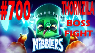 rovio nibblers boss fight thornzila level 700 three star walkthrough