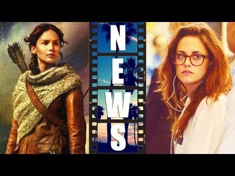 Hunger Games Catching Fire Trailer 2, Kristen Stewart Camp X-Ray & Sils Maria - Beyond The Trailer