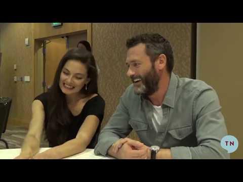 The Man in the High Castle's Alexa Davalos and Jason O'Mara  SDCC 2018