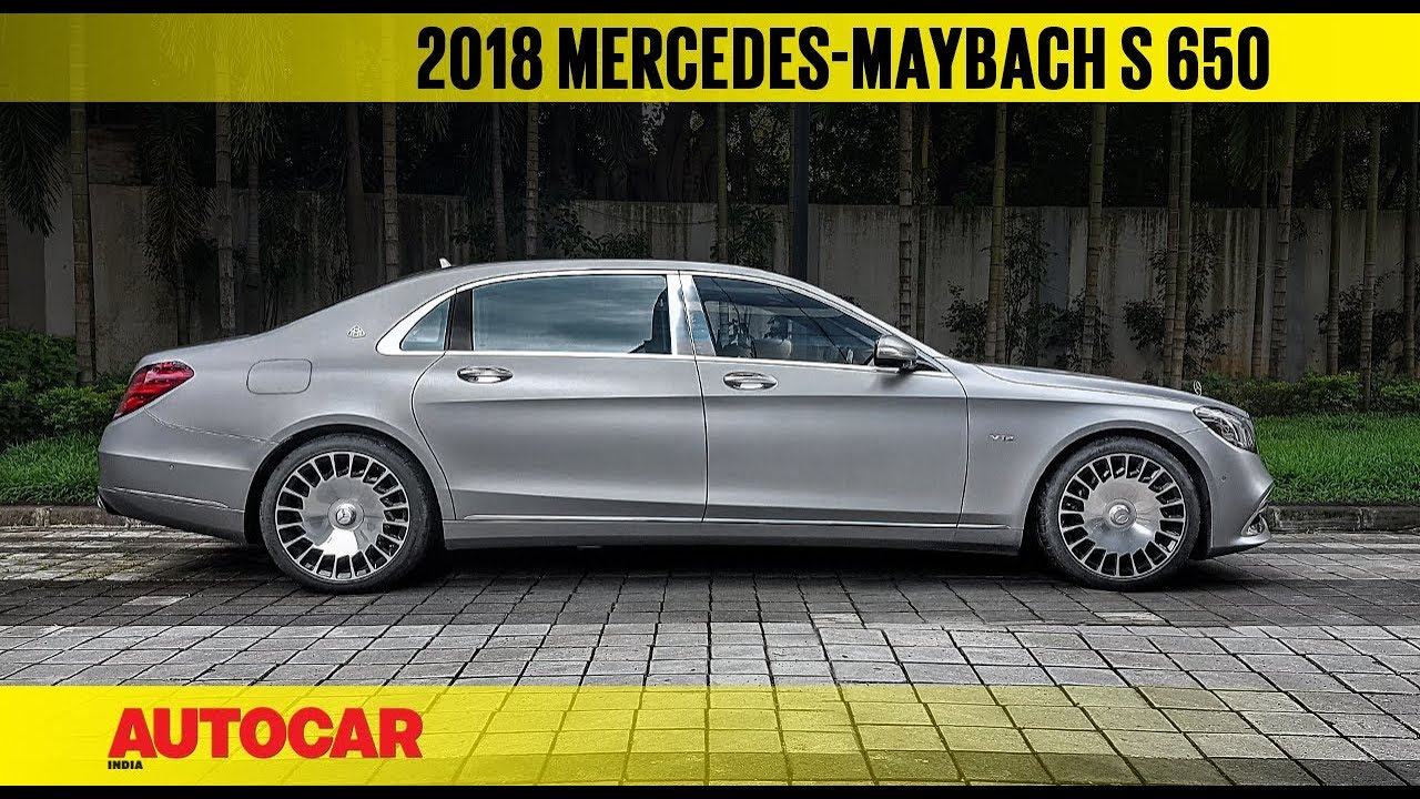Live Mercedes Maybach S 650 First Look Autocar India Youtube