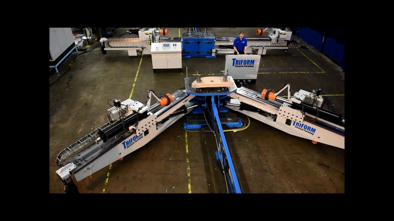 Triform Stretch Forming Machines Youtube