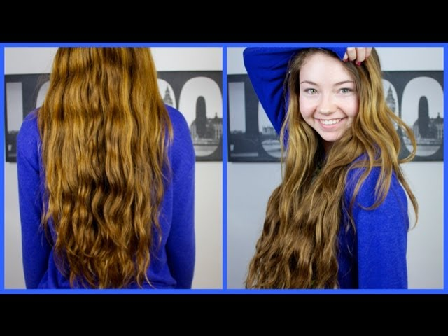 Heatless Hair Routine/How to grow your hair longer & faster!