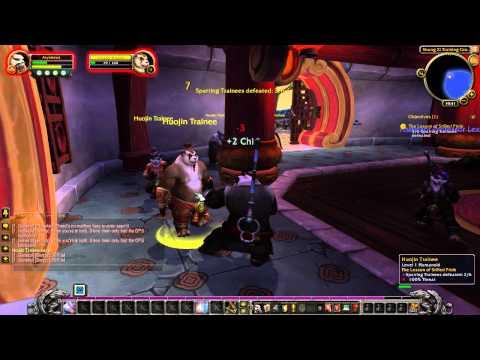 World of Warcraft: Mists of Pandaria (Pandaren Monk) Walkthrough w/ Ardy - Part 1