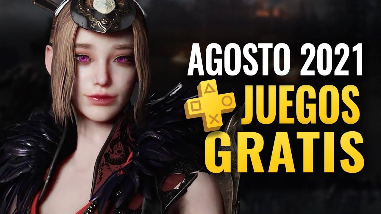 LOS JUEGOS GRATIS DE AGOSTO 2021 PLAYSTATION PLUS