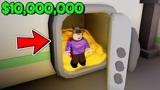 STEALING 10.000.000 USD IN ROBLOX! *ROBLOX CASH GRAB SIMULATOR!*