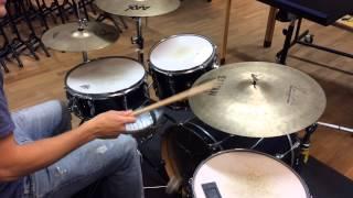 Måndagsbarn, trummor