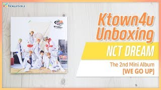 [Ktown4u Unboxing] NCT DREAM - 2nd mini [WE GO UP] 엔시티드림 언박싱