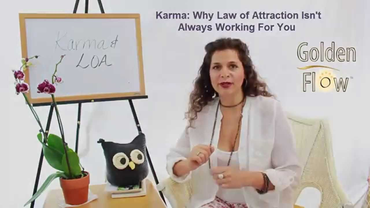 karma why law of attraction isn 39 t always working for you youtube. Black Bedroom Furniture Sets. Home Design Ideas