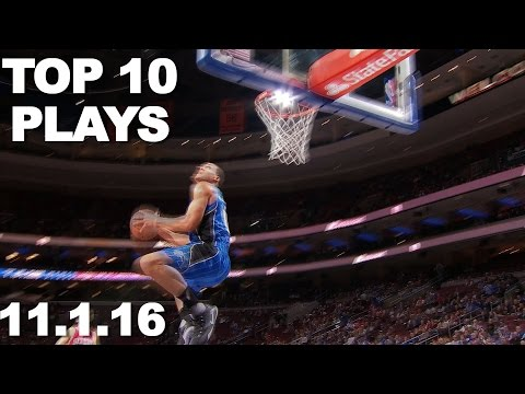 Veja o video – Top 10 NBA Plays of the Night 11.01.2016
