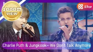 [2018 MGA] 찰리 푸스(Charlie Puth) X 방탄소년단 정국(Jungkook Of BTS) - We Don't Talk Anymore