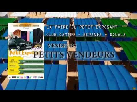 Foire Du Petit Exposant Au Club Camtel De Douala