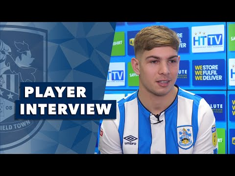 Smith Rowe Signs Player Interview Emile Smith Rowe On Joining Huddersfield Town Youtube