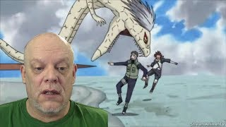 "REACTION VIDEO | ""Shippuden"" Clips - Kabuto Got Captain Draconian!"