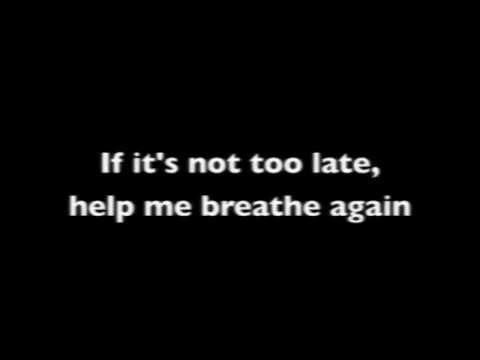 Rescue Me by Kerrie Roberts -- LYRICS ON SCREEN