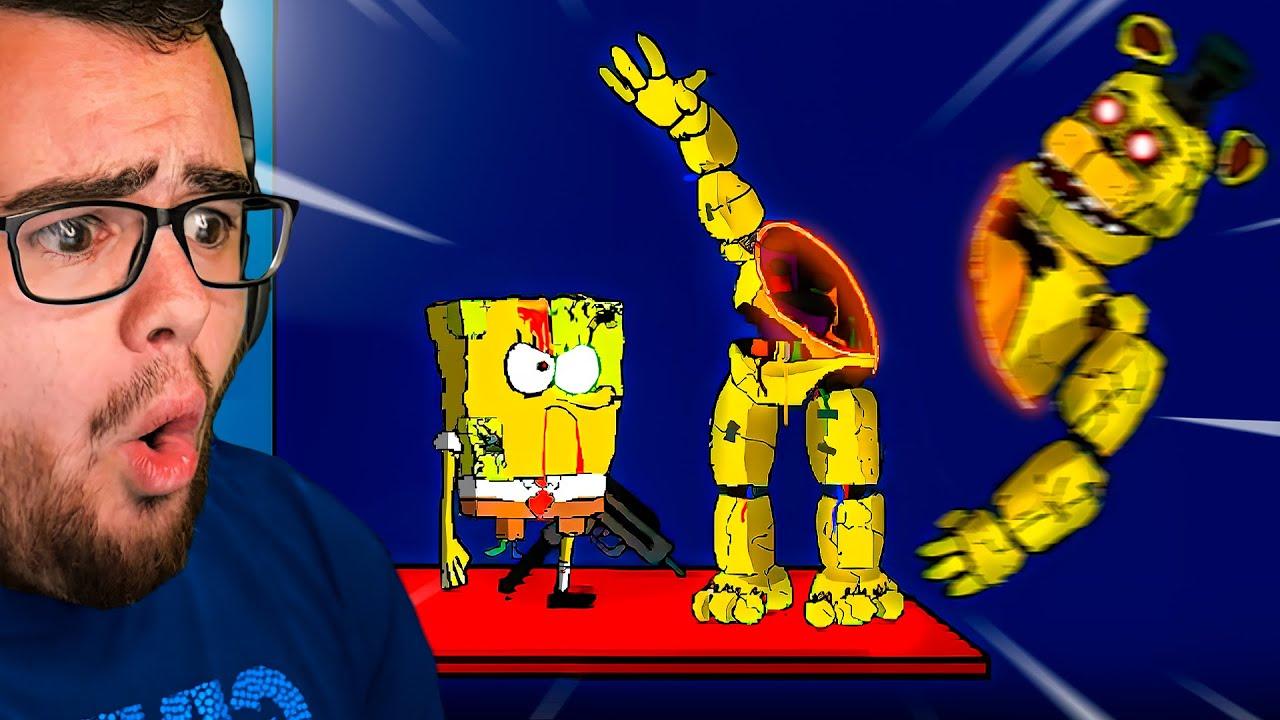 The END of FNAF Spongebob! - Part #4