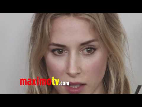 90210 Gillian Zinser at Forevermark And InStyle Golden Globes 2012 Event EXCLUSIVE