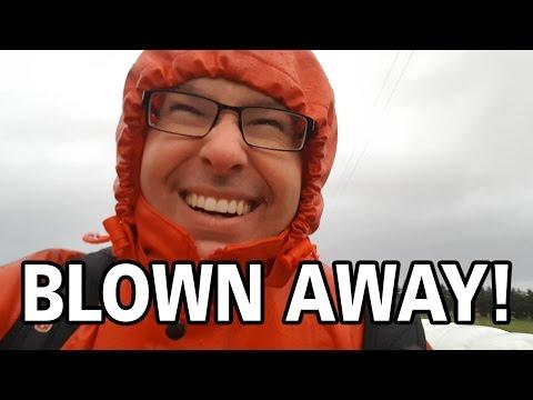 American reacting to Norwegian weather