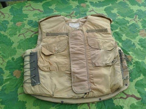 US Vietnam War M1952A Flak Vest