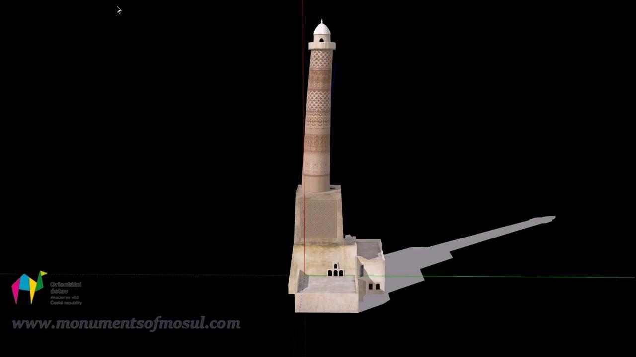 Making of the 3D model of Minaret al-Hadba