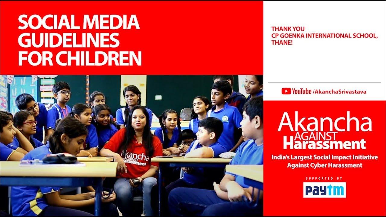Media Guidelines For Kids Of All Ages >> Social Media Guidelines For Children Youtube