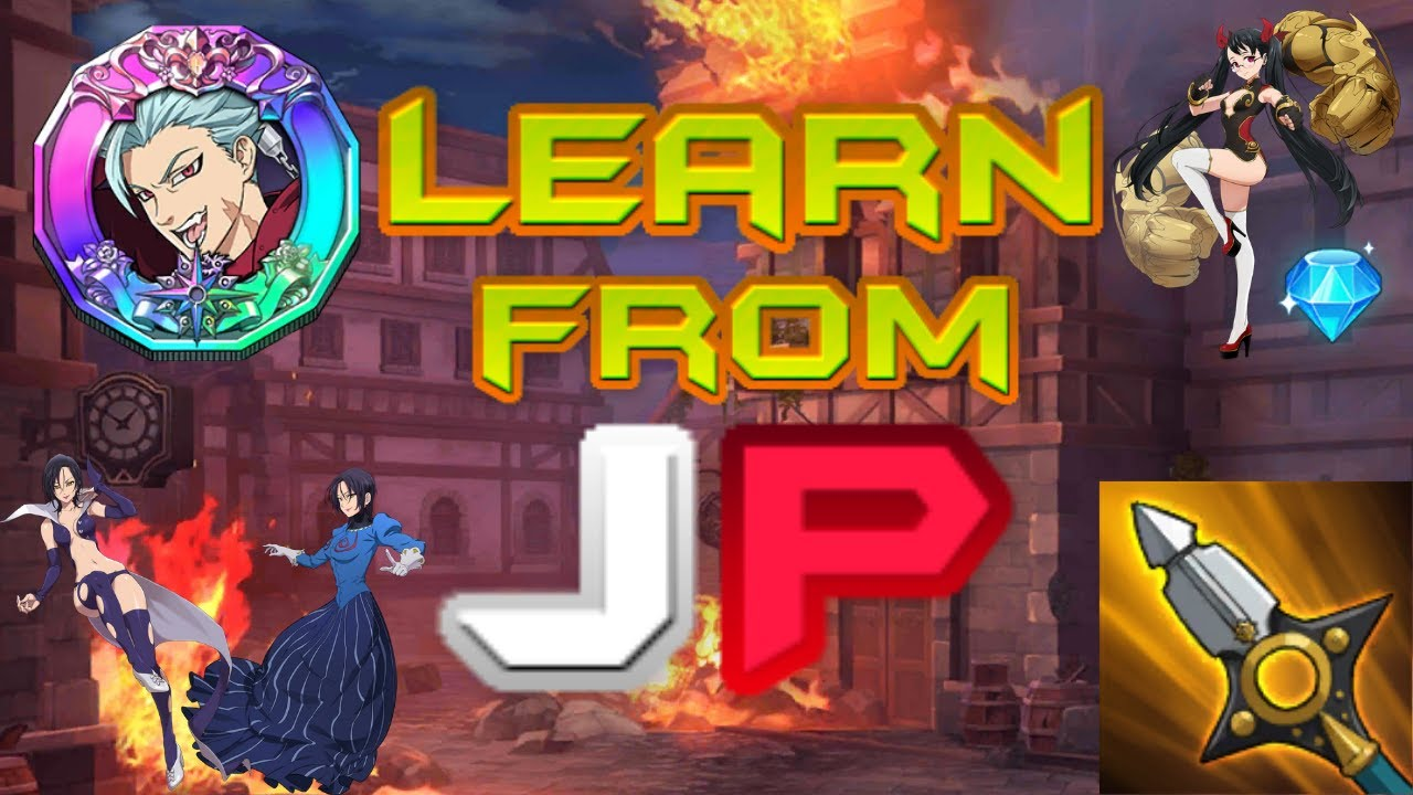 Learn from JP ( Anna Milbourne - Under the Sea Parody ) | 7 Deadly Sins Grand Cross