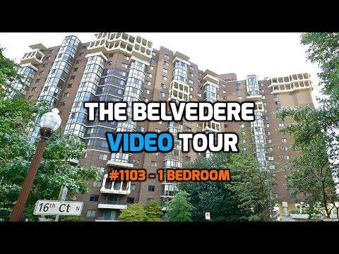1600 N Oak St #1103 Arlington VA 22209 Video Tour | The Belvedere Rosslyn 1 Bedroom Video Tour