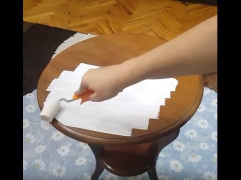 Diy How To Paint Old Furniture Ahşap Boyama Nasıl Yapılır 1 Youtube