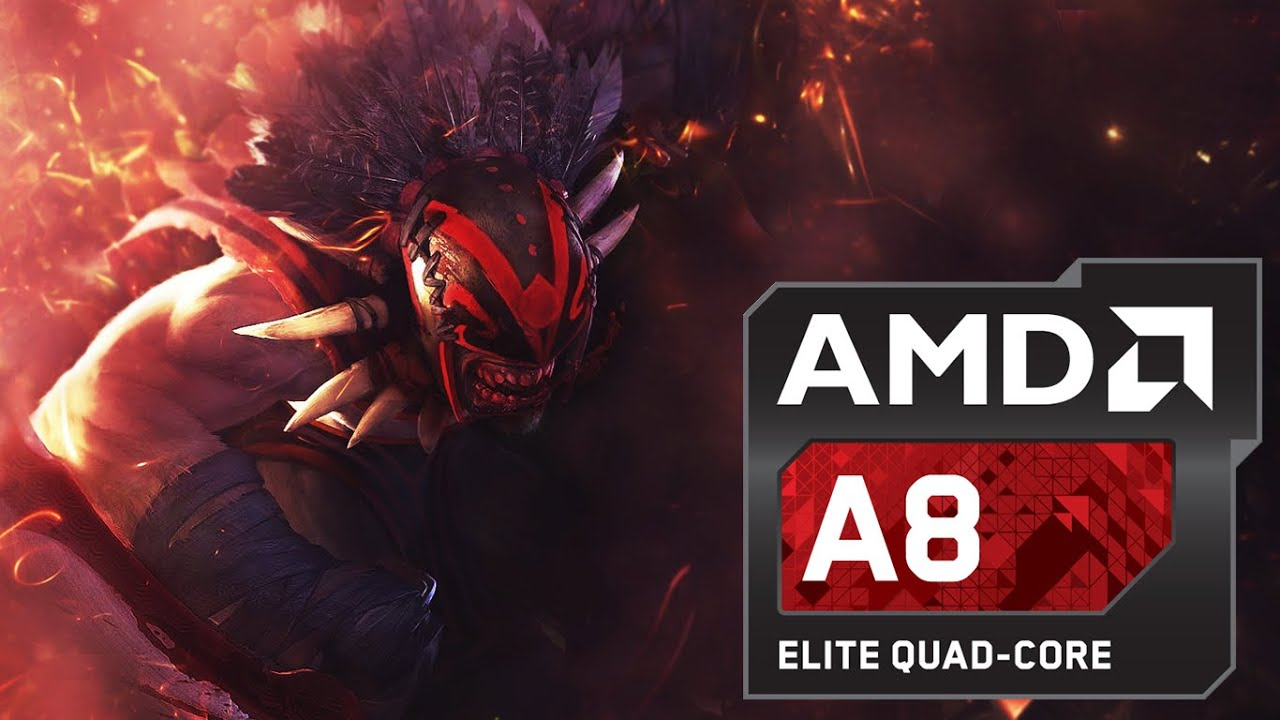 AMD A8 7600 APU Dota 2 Gameplay YouTube