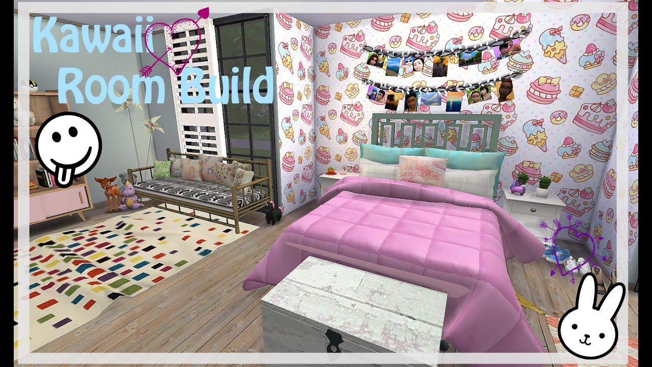 The Sims 4 | Kawaii Inspired Room Build
