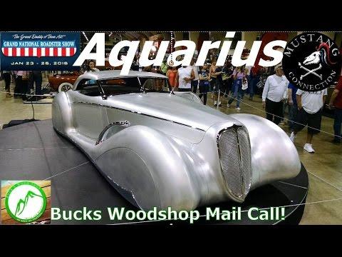 James Hetfield's Aquarius Custom Car BucksWoodShop Mail Call! Mustang Connection