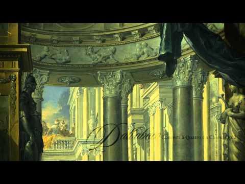 E.F. Dall'Abaco: 12 Concerti à Quatro da Chiesa, Op.II [Il Tempio Armonico]