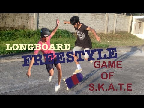Game of S.K.A.T.E. | Longboarding Freestyle