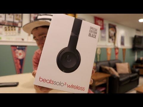 Beats Solo 3 Wireless Unboxing Special Edition Matte Black Youtube