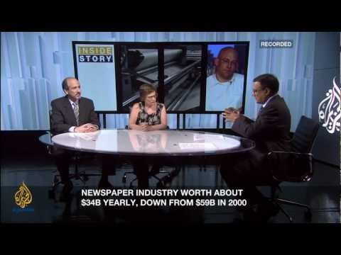 Inside Story Americas - The death of the newspaper?
