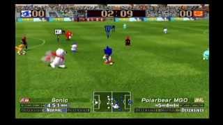FC Sonic vs Yukichan United (Virtua Striker 3 ver.2002)