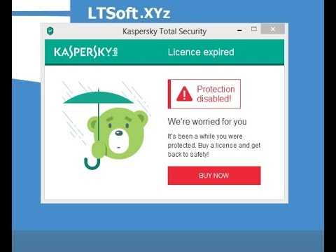 kaspersky license expired how to renewal free - YouTube