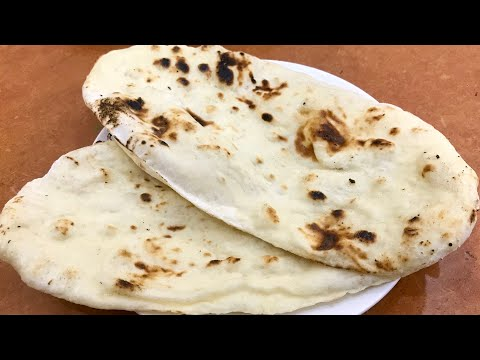 Butter naan recipe without oven and tandoor butter naan recipe Indian flat bread recipe