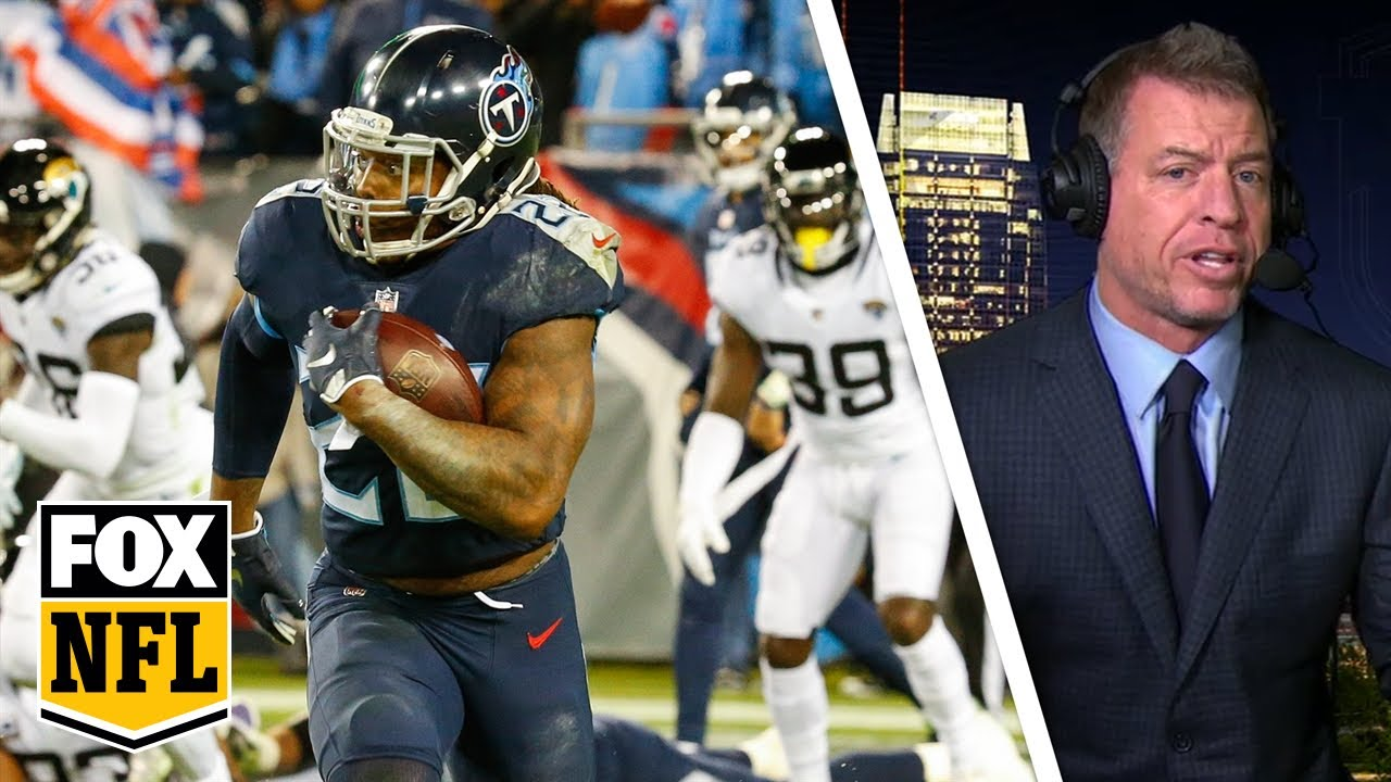 Troy Aikman: Derrick Henry makes Titans 'fun to watch' with record tying 99-YD TD  NFL
