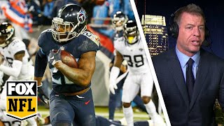 Troy Aikman: Derrick Henry makes Titans 'fun to watch' with record tying 99-YD TD | FOX NFL