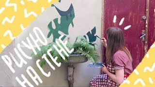 Расписываю стену в центре Львова, стрит-арт | 12-13.05.18 VLOG